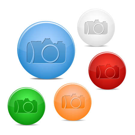 camera icon Stock Vector - 16234674