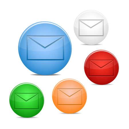 envelope icon Stock Vector - 16234691