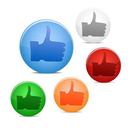 thumb up icon Stock Vector - 16245123