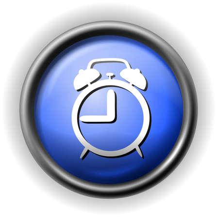 Glass alarm icon Stock Vector - 16927620