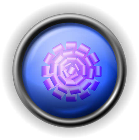 Glass bows icon Stock Vector - 16927557