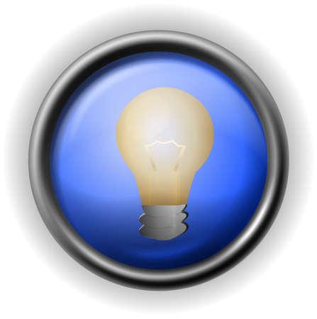 Glass bulb icon Stock Vector - 16927744