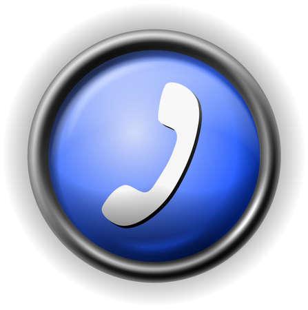 closet communication: Glass handset icon