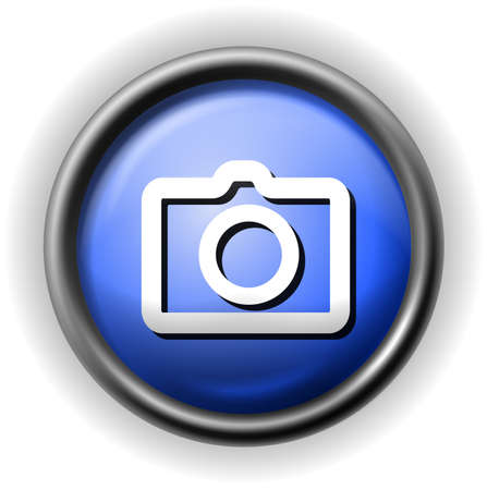 Glass photo icon Illustration