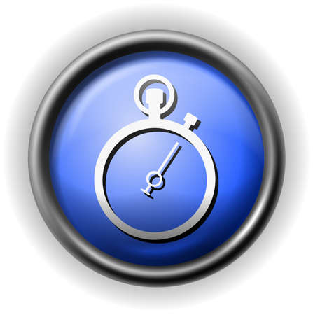 clock icon: Glass stopwatch icon