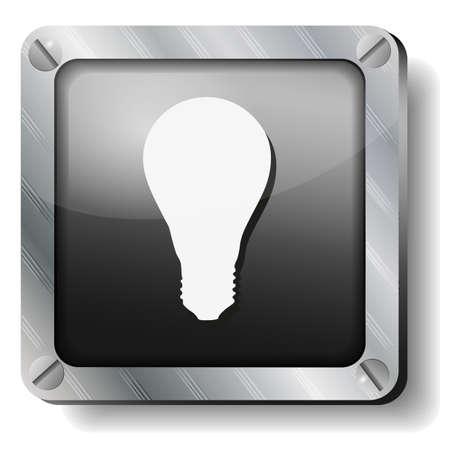 steel bulb icon1 Illustration