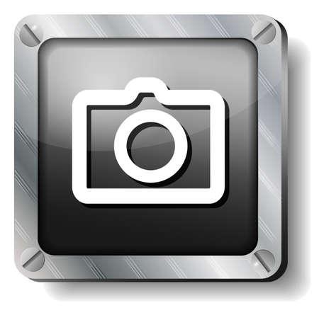 steel photo icon Illustration