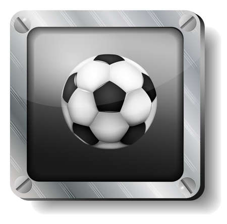steel soccer-ball icon