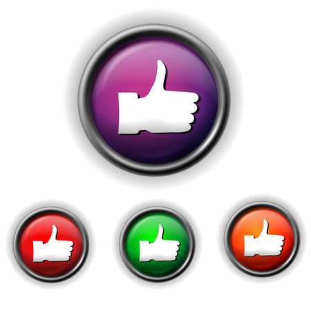 thumb up icon Stock Vector - 17778763