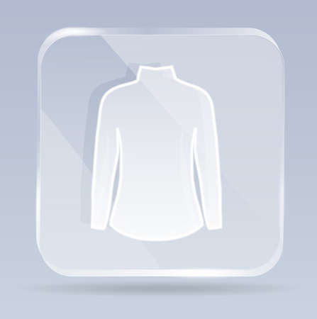 glass dress icon Vector