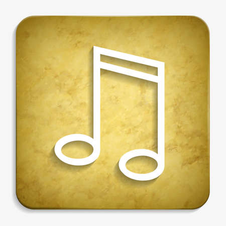 musical parchment icon