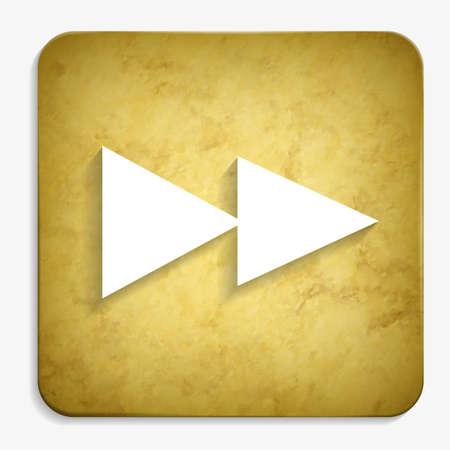 rewind: rewind parchment icon