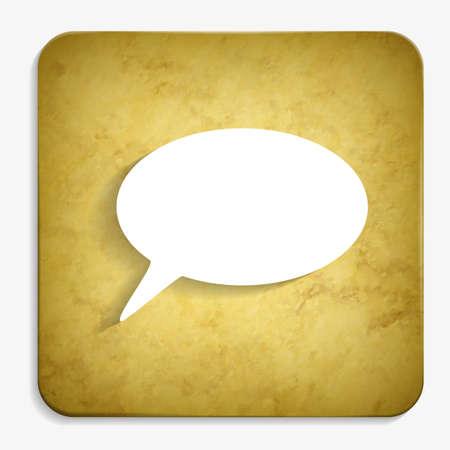 speech parchment icon