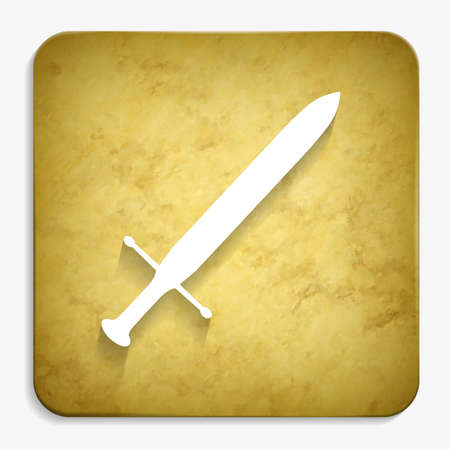 sword parchment icon