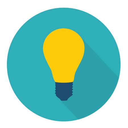 bulb icon Illustration