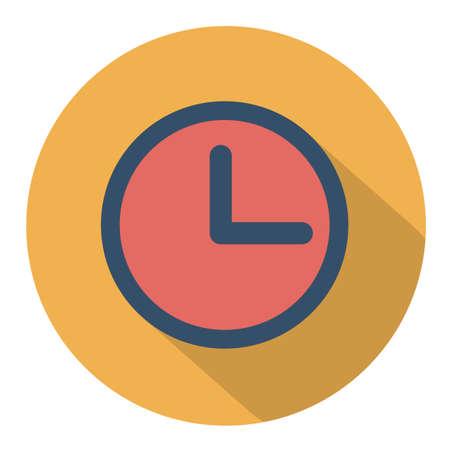 clock face icon Illustration