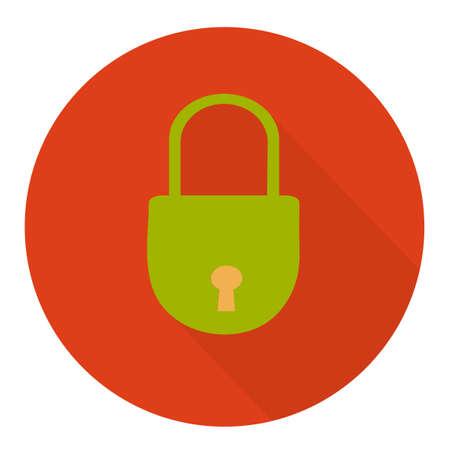 closed lock: closed lock icon