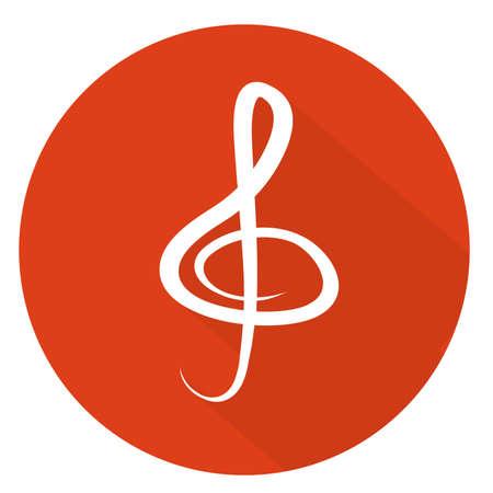 clef icon Illustration