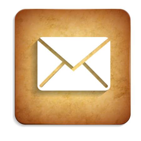 envelope rusty icon Illustration