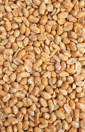 Background of roasted peanuts. photo
