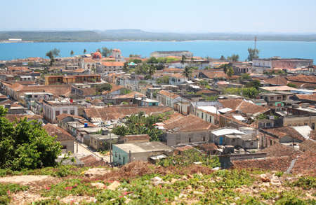 Village of Gibara in Cuba (in Holguin province). photo