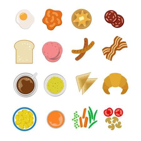 breakfast object icon