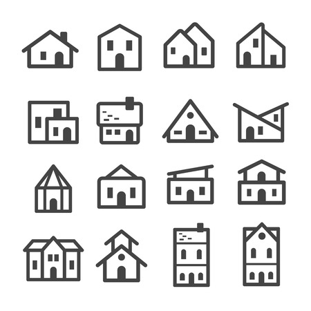 Home, house line icon.