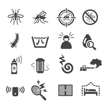 mosquito icon Vectores