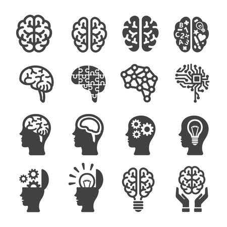 brain illustration: brain icon