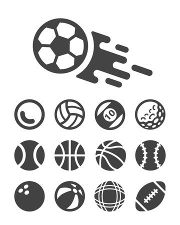 ball icon. Stock Photo