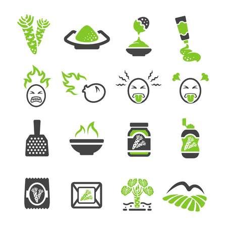 wasabi icon Ilustração Vetorial