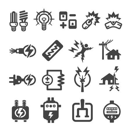 Icône électronique Banque d'images - 84659608