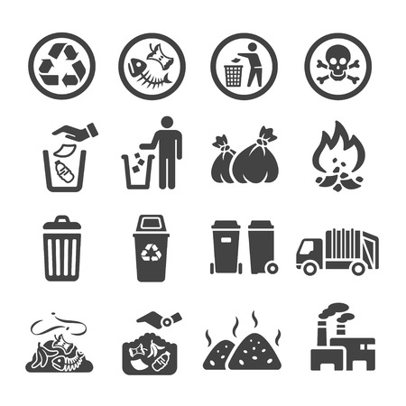 waste,garbage icon