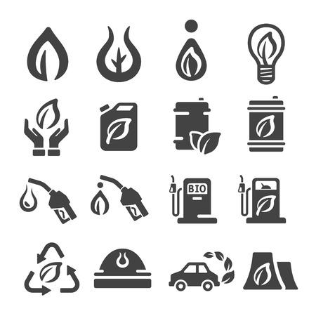 bio fuel icon Illustration