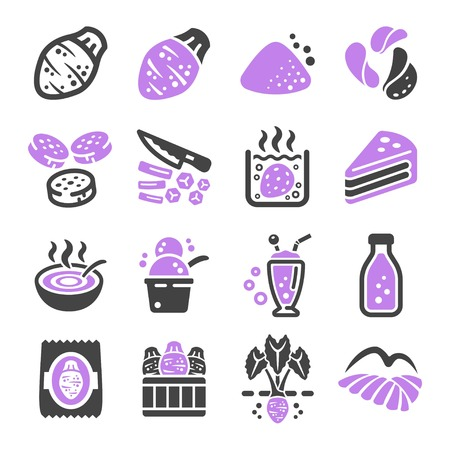 taro icon set