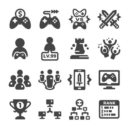 esport,cybersport icon set Illustration