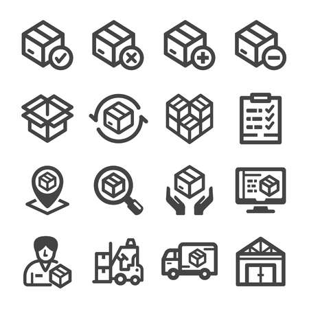 stock,stockpile icon,vector and illustration