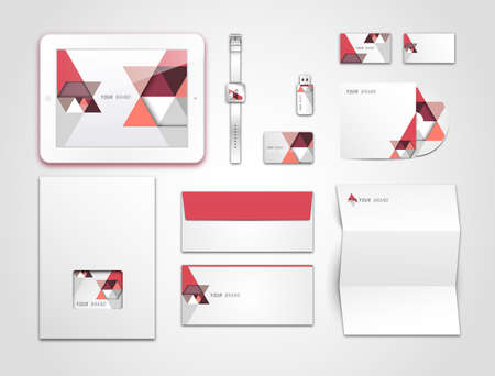 Corporate identity kit or business kit for your business Vector