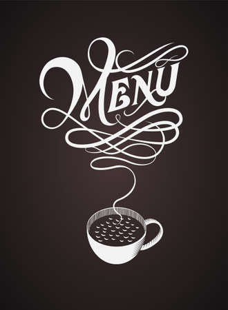 Cover of menu Illustration