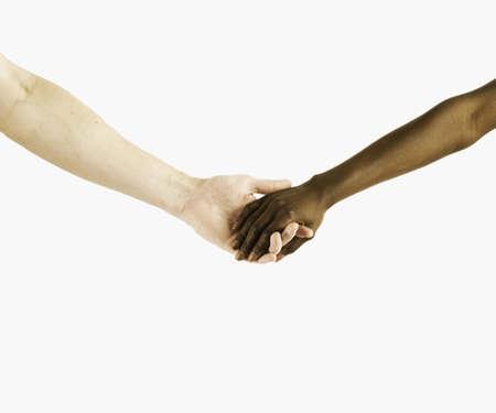 Dos personas tomadas de las manos Foto de archivo - 16043674