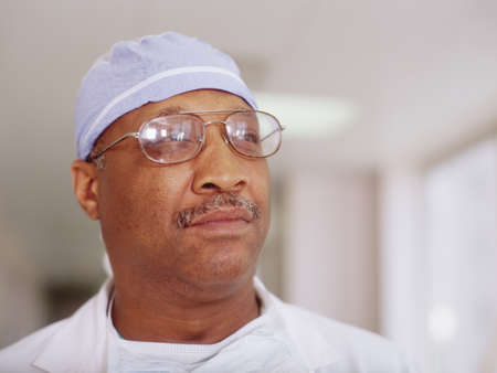 Portrait of a male surgeon Stock Photo - 16044321