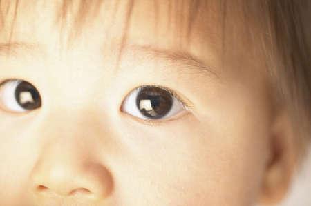 joyousness: Close-up of a baby boy (6-9 months)