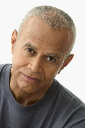one mature man only: Portrait of a mature man looking serious LANG_EVOIMAGES