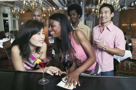 Group of people enjoying in a nightclub Stock Photo - 16047724
