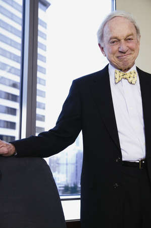 Senior businessman looking at camera Stock Photo - 16070534