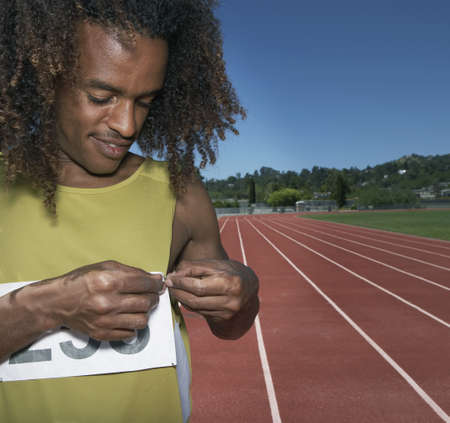 ethiopian ethnicity: Track athlete attaching event ID