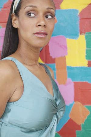 Portrait of a woman looking sideways Stock Photo - 16071136
