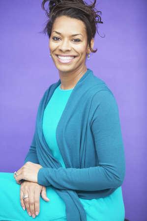 Portrait of smiling woman Stock Photo - 16071224