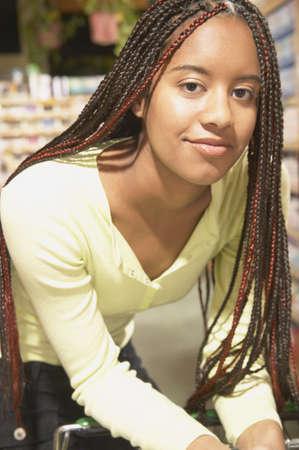 Portrait of a teenage girl Stock Photo - 16071561