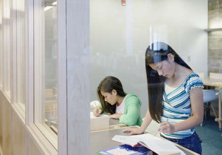 all under 18: Teenagers studying